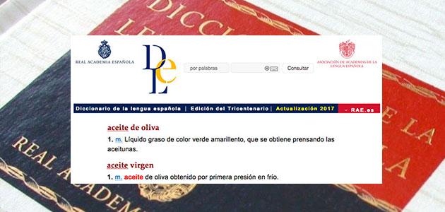 Diccionario de la RAE. AOVE